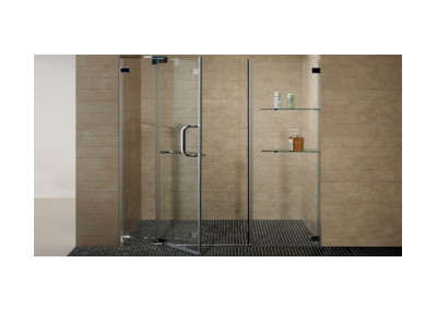 bathroom shower enclosure
