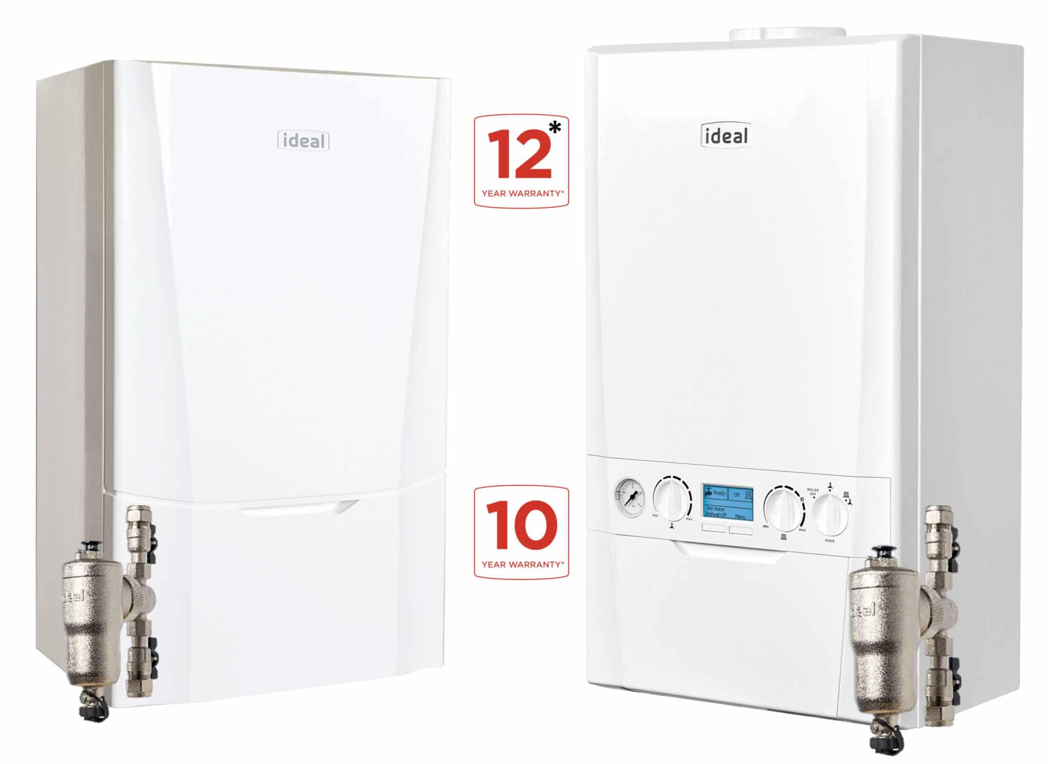 Ideal Boilers 12 year 10 year